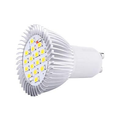 4W GU10 LED-spotlampen MR16 16 leds SMD 5630 Decoratief Warm wit Koel wit 3000/6500lm 3000K/6500KK AC 220-240V