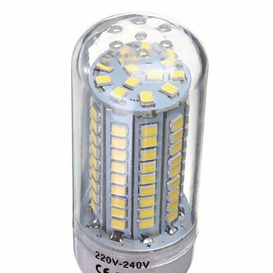 YWXLIGHT® 6W 500 lm E14 G9 GU10 E26/E27 B22 LED Corn Lights T 102 leds SMD 2835 Decorative Warm White Cold White AC 220-240V