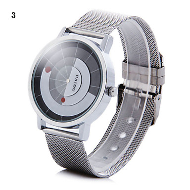 billige Herreure-Herre Armbåndsur Unik Creative Watch Quartz Sølv Analog 2# 3# 4#