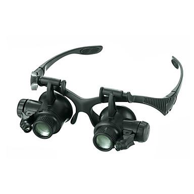 Monocular Lupas Alta Definição LED Fones de Ouvido Ângulo de visão largo Genérico Resistente à Umidade Resistente às intempéries 20 25