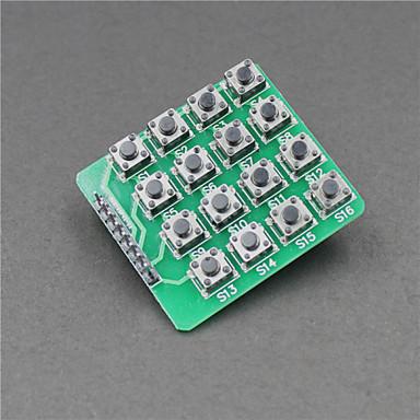 extensão MCU 4 x 4 16 teclas módulo teclado matriz para arduino (funciona com placas oficiais arduino)