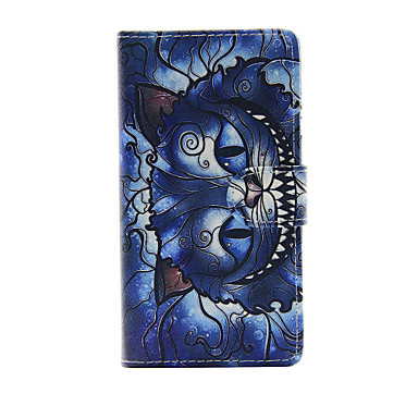 hoesje Voor Sony Xperia Z3 Compact Sony Xperia M4 Aqua Sony Xperia M2 Sony Sony hoesje Kaarthouder Portemonnee met standaard Flip