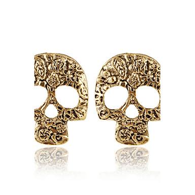 Γυναικεία Κουμπωτά Σκουλαρίκια Εξατομικευόμενο Μοντέρνα Ευρωπαϊκό Κράμα Κρανίο Κοσμήματα Ασημί Καφέ Κοστούμια Κοσμήματα