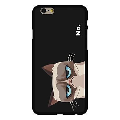 tok Για iPhone 6 iPhone 6 Plus Με σχέδια Πίσω Κάλυμμα Γάτα Σκληρή PC για iPhone 6s Plus iPhone 6 Plus iPhone 6s iPhone 6