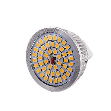 GU5.3(MR16) LED szpotlámpák MR16 48 led SMD 2835 Dekoratív Meleg fehér 600lm 3000K DC 12V