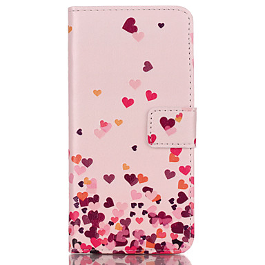 Case For Samsung Galaxy Samsung Galaxy Case Card Holder Wallet with Stand Flip Full Body Cases Heart PU Leather for S8 Plus S8 S7 edge S7