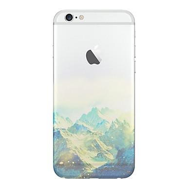 Για Θήκη iPhone 5 Ημιδιαφανές / Με σχέδια tok Πίσω Κάλυμμα tok Τοπίο Μαλακή TPU iPhone SE/5s/5