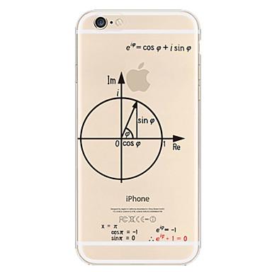 teste padrão geométrico TPU caso de telefone material para iphone 6 Plus / 6s mais