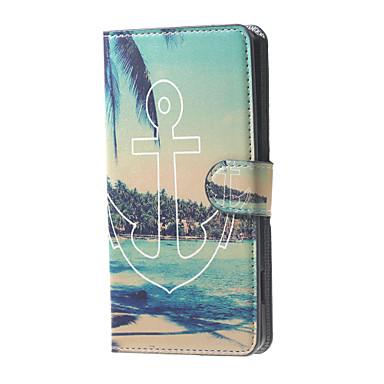 Para Capinhas Acer Case Tampa Carteira Porta-Cartão Com Suporte Flip Estampada Corpo Inteiro Capinha Âncora Rígida Couro Ecológico para