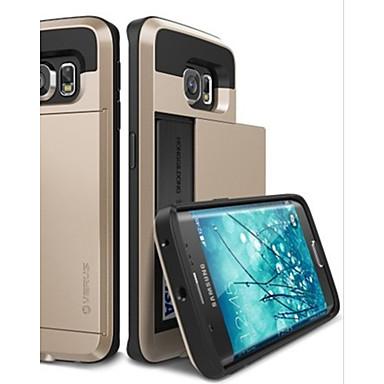 Voor Samsung Galaxy hoesje Schokbestendig hoesje Achterkantje hoesje Effen kleur PC Samsung S6 edge / S6