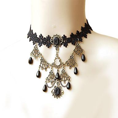 Dames Choker kettingen Hars Verguld Kostuum juwelen Sieraden Voor Feest Dagelijks Causaal