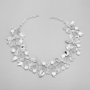 Bruiloft / Feest - Haarbanden (Kristal / Legering / Imitatieparel / Strass , Zoals Op De Afbeelding)