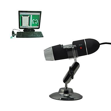 microscopia eletrônica portátil de detecção de impressão digital microscópio eletrônico de 25-200 - x