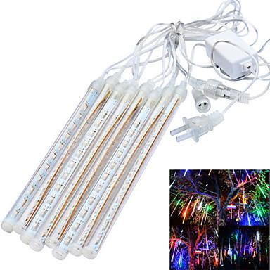 JIAWEN® 3 M 96 LED Dip Branco / RGB / Azul Prova-de-Água 4 W Barras de Luzes LED Rígidas AC100-240 V