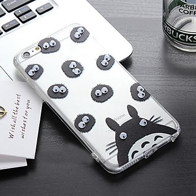 het zal de ogen bom PC en TPU telefoon geval bewegen voor iPhone 6 / 6s