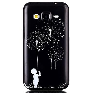 Para Samsung Galaxy Capinhas Case Tampa Estampada Capa Traseira Capinha dandelion PUT para Samsung Galaxy Grand Prime Grand Neo Core Prime