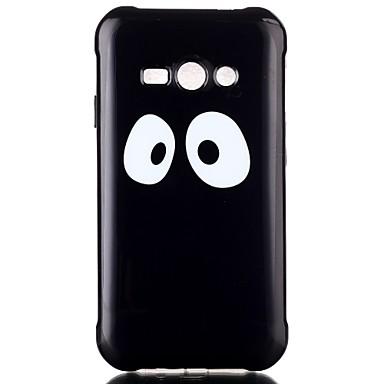 Para Samsung Galaxy Capinhas Case Tampa Estampada Capa Traseira Capinha Preto e Branco PUT para Samsung Galaxy J2 J1 Ace