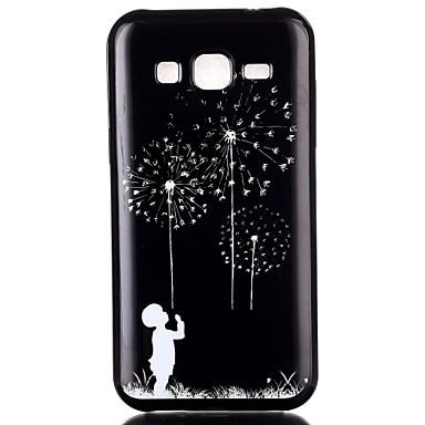 Para Samsung Galaxy Capinhas Case Tampa Estampada Capa Traseira Capinha dandelion PUT para Samsung Galaxy J2 J1 Ace