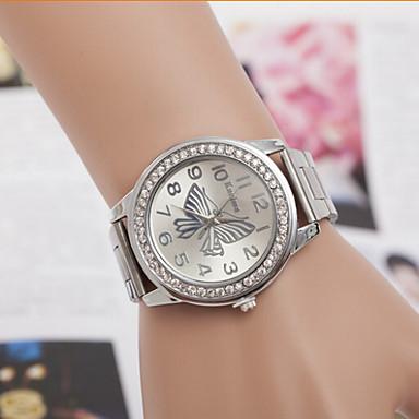 Masculino Mulheres Casal Relógio de Moda Simulado Diamante Relógio Quartzo imitação de diamante suíço Designer Lega BandaPrata Dourada