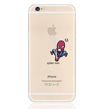 Capinha Para iPhone 5 Apple iPhone X iPhone X iPhone 8 Plus Capinha iPhone 5 Ultra-Fina Transparente Estampada Capa traseira Brincadeira