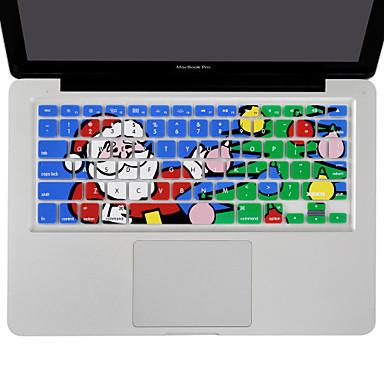 pai natal XSKN silicone cobrir a pele de teclado para MacBook Air 13, MacBook Pro sem retina 13 15 17, nos de layout