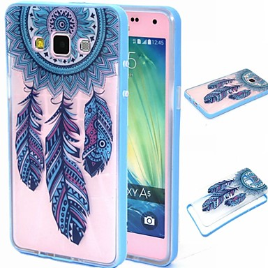 hoesje Voor Samsung Galaxy Samsung Galaxy hoesje Transparant Patroon Achterkantje Dromenvanger PC voor A5