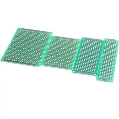 4buc 5x7 4x6 3x7 2x8 cm cupru partea dublu prototip PCB bord universal pentru Arduino