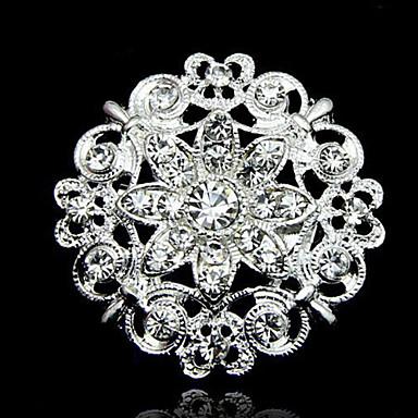 Damen Broschen - Blume Modisch Brosche Weiß Für Alltag