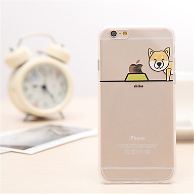 shiba hond patroon TPU / acryl Cover Case voor iPhone 6s plus / 6 plus