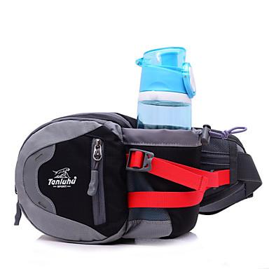 L Csomag derékra Termosz-öv Belt Pouch mert Mászás Kerékpározás / Kerékpár Futás Kempingezés és túrázás Sportska torba Többfunkciós