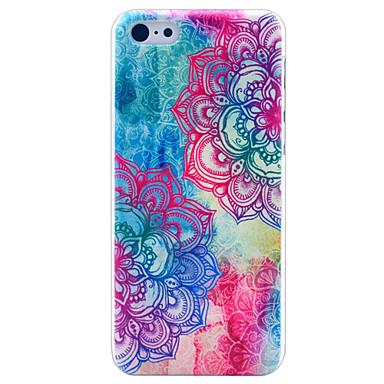 όμορφο μάνταλα λουλούδι μοτίβο σκληρό περίπτωση κάλυψη για το iphone 5γ