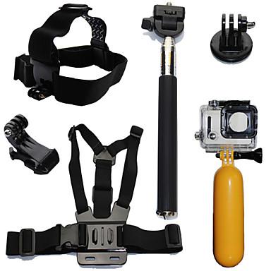 Acessório Kit Impermeável Flutuante Para Câmara de Acção Gopro 6 All Action Camera Gopro 5 Xiaomi Camera Gopro 4 Session Gopro 4 Gopro 3