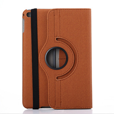 7.9 polegadas padrão denim 360 graus de rotação caso suporte para iPad mini 4 (cores sortidas)