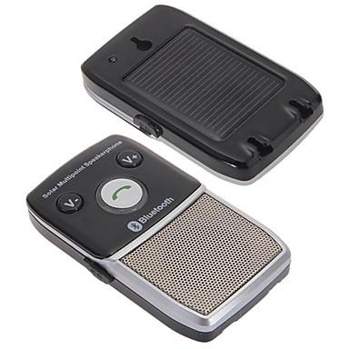 auto op zonne-energie bluetooth 2.1 speaker luidspreker handsfree voor mobiele telefoon
