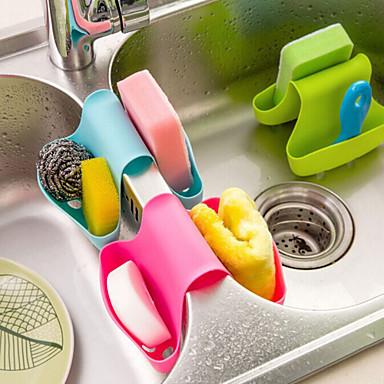 Multifunktions-Küche und Bad Drain sattelförmige Halterung (gelegentliche Farbe)