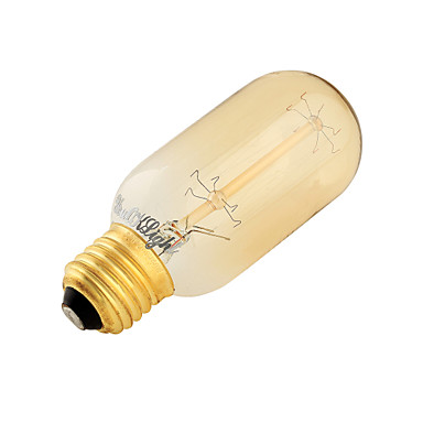 YouOKLight 1pc 400 lm E26/E27 LED-bollampen B 7 Tungsten Filament leds SMD Decoratief Warm wit AC 220-240V