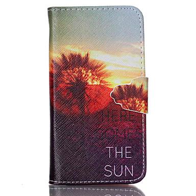 Για Θήκη Sony Πορτοφόλι / Θήκη καρτών / με βάση στήριξης / Ανοιγόμενη tok Πλήρης κάλυψη tok Ραδίκι Σκληρή Συνθετικό δέρμα για SonySony