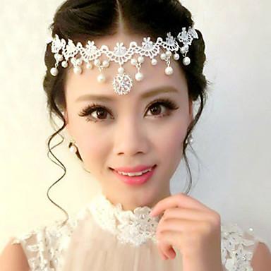 alaşım Çiçek  -  Headbands Başlık 1pc Düğün Özel Anlar Başlık