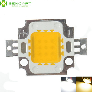 SENCART 1 Pça. COB 900 Chip LED Alumínio 10W
