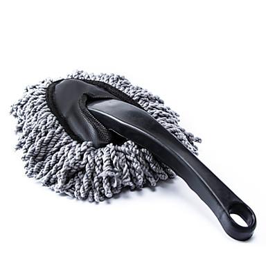 자동차 살포기 청소 흙 먼지 청소 브러시 먼지 도구 걸레 회색