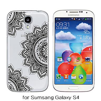Voor Samsung Galaxy hoesje Transparant / Patroon hoesje Achterkantje hoesje Mandala TPU Samsung S6 / S5 / S4