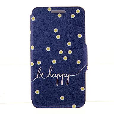 Capinha Para Samsung Galaxy Samsung Galaxy Note Porta-Cartão Carteira Com Suporte Flip Capa Proteção Completa Flor PU Leather para Note 5