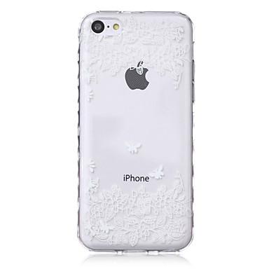 hoesje Voor iPhone 5c Apple Achterkant Zacht TPU voor iPhone 5c