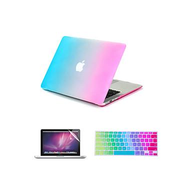 Capa para MacBook para Cores Gradiente ABS MacBook Pro 15 Polegadas MacBook Pro 13 Polegadas MacBook Air 11 Polegadas