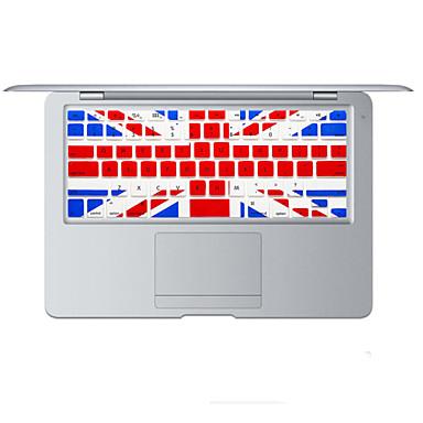 Britse vlag ontwerp siliconen toetsenbord cover skin voor MacBook Air 13,3, MacBook Pro met Retina 13 15 17 ons lay-out