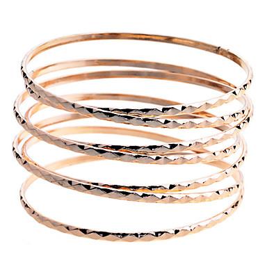 Heren Verguld Bangles - Gouden Armbanden Voor Feest Dagelijks Causaal