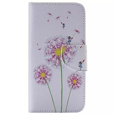 Capinha Para Samsung Galaxy Samsung Galaxy Capinhas Carteira Porta-Cartão Com Suporte Flip Capa Proteção Completa dandelion PU Leather
