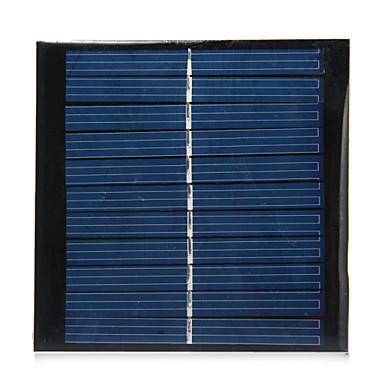1W 5.5V uitgang polykristallijn silicium zonnepaneel voor diy
