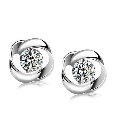 Oorknopjes Sterling zilver Sieraden Voor Bruiloft Feest Dagelijks 1 Set
