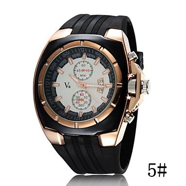 levne Pánské-Dámské Sportovní hodinky Křemenný Černá Hodinky na běžné nošení Cool Analogové dámy Módní - 3# 4# 5#